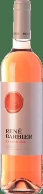 4,95 € Envío gratis | Vino rosado René Barbier Tradición Joven D.O. Catalunya Cataluña España Tempranillo, Merlot Botella 75 cl