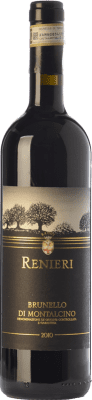 106,95 € Free Shipping | Red wine Renieri D.O.C.G. Brunello di Montalcino Tuscany Italy Sangiovese Bottle 75 cl