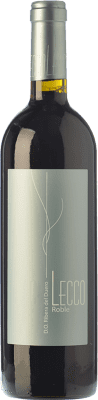 12,95 € Free Shipping | Red wine Resalte Lecco Roble D.O. Ribera del Duero Castilla y León Spain Tempranillo Bottle 75 cl