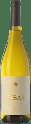 17,95 € Free Shipping | White wine Ribas Blanc I.G.P. Vi de la Terra de Mallorca Balearic Islands Spain Viognier, Premsal Bottle 75 cl