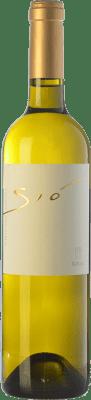 24,95 € Free Shipping | White wine Ribas Sió Blanc Crianza I.G.P. Vi de la Terra de Mallorca Balearic Islands Spain Chenin White, Premsal Bottle 75 cl