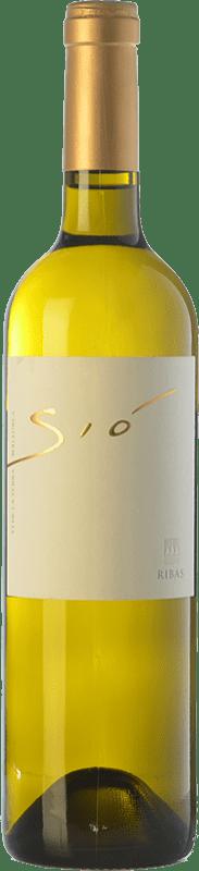 19,95 € Free Shipping | White wine Ribas Sió Blanc Crianza I.G.P. Vi de la Terra de Mallorca Balearic Islands Spain Chenin White, Premsal Bottle 75 cl