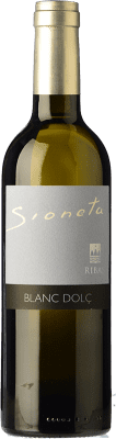 24,95 € Free Shipping | Sweet wine Ribas Sioneta I.G.P. Vi de la Terra de Mallorca Balearic Islands Spain Muscatel Small Grain Half Bottle 50 cl