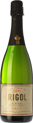 4,95 € Free Shipping | White sparkling Rigol Brut Joven D.O. Cava Catalonia Spain Macabeo, Xarel·lo, Parellada Bottle 75 cl | Thousands of wine lovers trust us to get the best price guarantee, free shipping always and hassle-free shopping and returns.