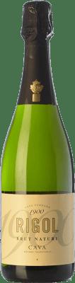 5,95 € Free Shipping | White sparkling Rigol Brut Nature Joven D.O. Cava Catalonia Spain Macabeo, Xarel·lo, Parellada Bottle 75 cl