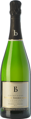 37,95 € Free Shipping | White sparkling Robert Barbichon Réserve 4 Cépages Brut Reserva A.O.C. Champagne Champagne France Pinot Black, Chardonnay, Pinot White, Pinot Meunier Bottle 75 cl. | Thousands of wine lovers trust us to get the best price guarantee, free shipping always and hassle-free shopping and returns.