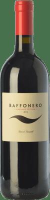 191,95 € Free Shipping | Red wine Rocca di Frassinello Baffonero D.O.C. Maremma Toscana Tuscany Italy Merlot Bottle 75 cl