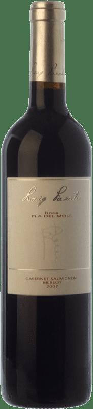 12,95 € Free Shipping | Red wine Roig Parals Pla del Molí Crianza D.O. Empordà Catalonia Spain Merlot, Cabernet Sauvignon Bottle 75 cl