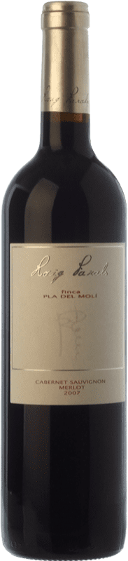 12,95 € Envoi gratuit | Vin rouge Roig Parals Pla del Molí Crianza D.O. Empordà Catalogne Espagne Merlot, Cabernet Sauvignon Bouteille 75 cl