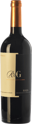 17,95 € Free Shipping | Red wine Rolland & Galarreta Crianza D.O.Ca. Rioja The Rioja Spain Tempranillo Bottle 75 cl