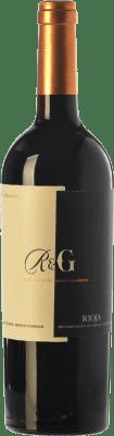 17,95 € Envío gratis | Vino tinto Rolland & Galarreta Crianza D.O.Ca. Rioja La Rioja España Tempranillo Botella 75 cl
