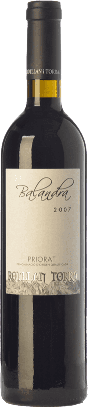 17,95 € Free Shipping | Red wine Rotllan Torra Balandra Joven D.O.Ca. Priorat Catalonia Spain Grenache, Cabernet Sauvignon, Carignan Bottle 75 cl