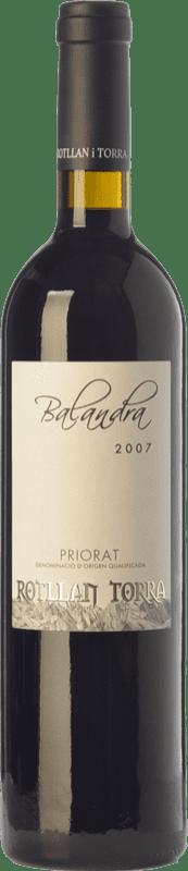 17,95 € Envoi gratuit | Vin rouge Rotllan Torra Balandra Joven D.O.Ca. Priorat Catalogne Espagne Grenache, Cabernet Sauvignon, Carignan Bouteille 75 cl