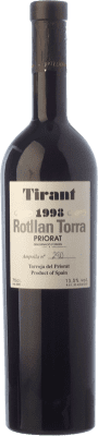 45,95 € Kostenloser Versand | Rotwein Rotllan Torra Tirant Crianza 1998 D.O.Ca. Priorat Katalonien Spanien Merlot, Syrah, Grenache, Cabernet Sauvignon, Carignan Flasche 75 cl
