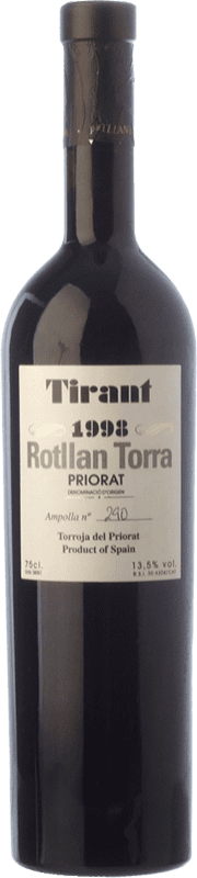 39,95 € Envoi gratuit | Vin rouge Rotllan Torra Tirant Crianza D.O.Ca. Priorat Catalogne Espagne Merlot, Syrah, Grenache, Cabernet Sauvignon, Carignan Bouteille 75 cl
