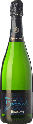 9,95 € Free Shipping | White sparkling Rovellats Brut Reserva D.O. Cava Catalonia Spain Macabeo, Xarel·lo, Parellada Bottle 75 cl. | Thousands of wine lovers trust us to get the best price guarantee, free shipping always and hassle-free shopping and returns.