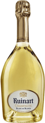 57,95 € Free Shipping | White sparkling Ruinart Blanc de Blancs A.O.C. Champagne Champagne France Chardonnay Bottle 75 cl. | Thousands of wine lovers trust us to get the best price guarantee, free shipping always and hassle-free shopping and returns.