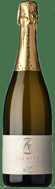21,95 € Free Shipping | Rosé sparkling Ruiz de Cardenas Galanta Rosé Brut Italy Pinot Black, Chardonnay Bottle 75 cl