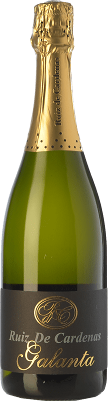 22,95 € Free Shipping | White sparkling Ruiz de Cardenas Galanta Tradizione Brut Italy Pinot Black, Chardonnay Bottle 75 cl