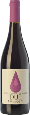 9,95 € Free Shipping | Red wine Russolo Due Rosso I.G.T. Friuli-Venezia Giulia Friuli-Venezia Giulia Italy Merlot, Cabernet Sauvignon Bottle 75 cl