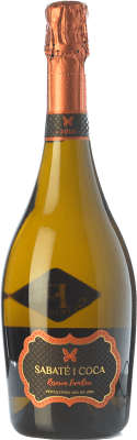 33,95 € Free Shipping | White sparkling Sabaté i Coca Familiar Brut Reserva 2010 D.O. Cava Catalonia Spain Xarel·lo, Chardonnay Bottle 75 cl. | Thousands of wine lovers trust us to get the best price guarantee, free shipping always and hassle-free shopping and returns.