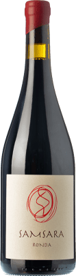 42,95 € Free Shipping | Red wine Samsara Ronda Crianza D.O. Sierras de Málaga Andalusia Spain Petit Verdot Bottle 75 cl