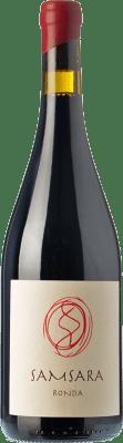 42,95 € Kostenloser Versand | Rotwein Samsara Ronda Crianza D.O. Sierras de Málaga Andalusien Spanien Petit Verdot Flasche 75 cl