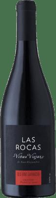 14,95 € Free Shipping | Red wine San Alejandro Las Rocas Viñas Viejas Joven D.O. Calatayud Aragon Spain Grenache Bottle 75 cl