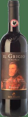 19,95 € Free Shipping | Red wine San Felice Riserva Il Grigio Reserva D.O.C.G. Chianti Classico Tuscany Italy Sangiovese Bottle 75 cl