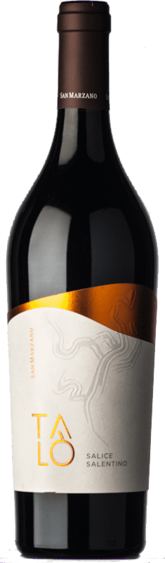 11,95 € Free Shipping | Red wine San Marzano Talò D.O.C. Salice Salentino Puglia Italy Malvasia Black, Negroamaro Bottle 75 cl