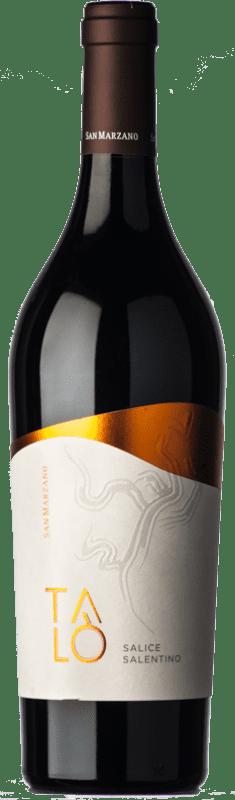 11,95 € Envío gratis | Vino tinto San Marzano Talò D.O.C. Salice Salentino Puglia Italia Malvasía Negra, Negroamaro Botella 75 cl