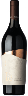 17,95 € Free Shipping | Red wine San Marzano Talò D.O.C. Primitivo di Manduria Puglia Italy Primitivo Bottle 75 cl