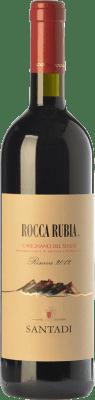 19,95 € Free Shipping | Red wine Santadi Riserva Rocca Rubia Reserva D.O.C. Carignano del Sulcis Sardegna Italy Carignan Bottle 75 cl