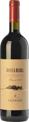 19,95 € Envoi gratuit | Vin rouge Santadi Riserva Rocca Rubia Reserva D.O.C. Carignano del Sulcis Sardaigne Italie Carignan Bouteille 75 cl