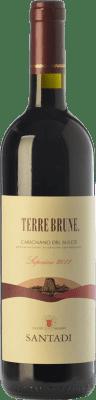 49,95 € Free Shipping | Red wine Santadi Carignano del Sulcis Superiore Terre Brune D.O.C. Carignano del Sulcis Sardegna Italy Carignan, Bobal Bottle 75 cl