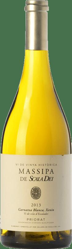 29,95 € Free Shipping | White wine Scala Dei Massipa Crianza D.O.Ca. Priorat Catalonia Spain Grenache White, Chenin White Bottle 75 cl