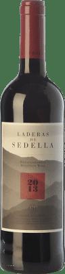 36,95 € Free Shipping | Red wine Sedella Laderas Crianza D.O. Sierras de Málaga Andalusia Spain Grenache, Romé, Muscatel Magnum Bottle 1,5 L