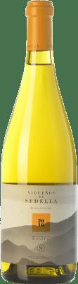 22,95 € Free Shipping | White wine Sedella Vidueños Crianza D.O. Sierras de Málaga Andalusia Spain Muscat of Alexandria, Doradilla, Montúa Bottle 75 cl