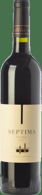 11,95 € Free Shipping | Red wine Séptima Joven I.G. Mendoza Mendoza Argentina Malbec Bottle 75 cl