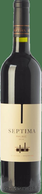 9,95 € Free Shipping | Red wine Séptima Joven I.G. Mendoza Mendoza Argentina Malbec Bottle 75 cl