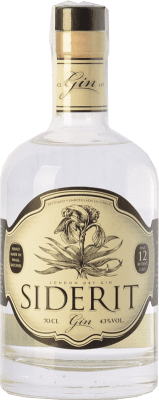 37,95 € Envoi gratuit | Gin Siderit Dry Gin Espagne Bouteille 70 cl