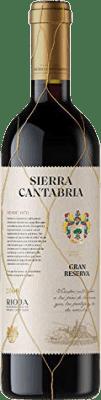 22,95 € Free Shipping | Red wine Sierra Cantabria Gran Reserva D.O.Ca. Rioja The Rioja Spain Tempranillo, Graciano Bottle 75 cl