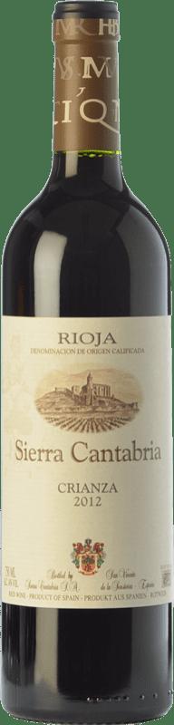 18,95 € Free Shipping | Red wine Sierra Cantabria Crianza D.O.Ca. Rioja The Rioja Spain Tempranillo, Grenache, Graciano Magnum Bottle 1,5 L