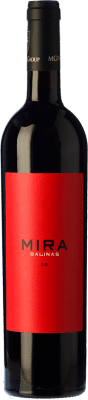 19,95 € Free Shipping | Red wine Sierra Salinas Mira Crianza 2011 D.O. Alicante Valencian Community Spain Cabernet Sauvignon, Monastrell, Grenache Tintorera, Petit Verdot Bottle 75 cl | Thousands of wine lovers trust us to get the best price guarantee, free shipping always and hassle-free shopping and returns.