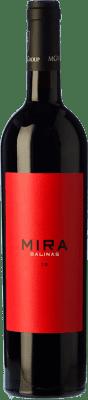 19,95 € Free Shipping | Red wine Sierra Salinas Mira Crianza D.O. Alicante Valencian Community Spain Cabernet Sauvignon, Monastrell, Grenache Tintorera, Petit Verdot Bottle 75 cl