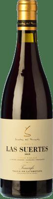 43,95 € Free Shipping | Red wine Soagranorte Suertes del Marqués El Ciruelo Crianza D.O. Valle de la Orotava Canary Islands Spain Listán Black, Listán White Bottle 75 cl