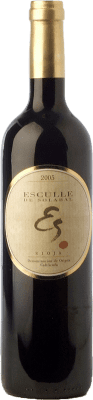 28,95 € Free Shipping | Red wine Solabal Esculle Crianza D.O.Ca. Rioja The Rioja Spain Tempranillo Bottle 75 cl