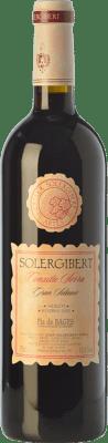 14,95 € Envoi gratuit | Vin rouge Solergibert Conxita Gran Reserva D.O. Pla de Bages Catalogne Espagne Merlot Bouteille 75 cl