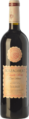 14,95 € Envío gratis | Vino tinto Solergibert Conxita Gran Reserva D.O. Pla de Bages Cataluña España Merlot Botella 75 cl