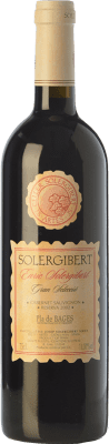 16,95 € Free Shipping | Red wine Solergibert Enric Gran Reserva D.O. Pla de Bages Catalonia Spain Cabernet Sauvignon, Cabernet Franc Bottle 75 cl